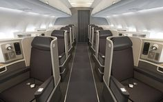American Airlines dévoile la cabine de ses A321 t... - Business travel