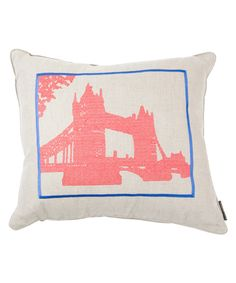 tower bridge pillow