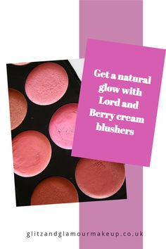 The best blushers are ones that can give that lovely natural glow. Lord and Berry cream blushers certainly fit the bill. Bright Purple, Coral Orange, How To Do Makeup, Purple Orchids, Natural Glow, Blusher, Dusty Rose, Mascara, Sculpting