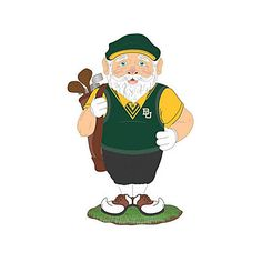 Baylor Bears golfer gnome // Probably the best and weirdest gift you can give a golf lover. #SicEm