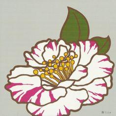 Furoshiki Camellia – Medium (75 sq cm)