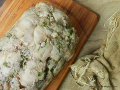 Rolada drobiowo - wieprzowa na zimno   Stare Gary Camembert Cheese, Food And Drink, Diet, Chicken, Dinners, Fine Dining, Dinner Parties, Food Dinners, Banting