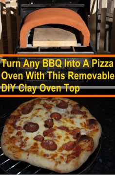 Turn Your BBQ Into A Pizza Oven With This DIY Clay Oven Top (Removable)