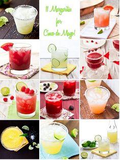 11 Margarita Recipes by foodiebride