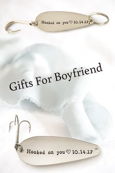 Fishing gifts for boyfriend. Birthday gifts for boyfriend. Dating anniversary keychain or fishing lure. Christmas Presents For Boyfriend, Creative Gifts For Boyfriend, Cute Boyfriend Gifts, Bf Gifts, Valentines Gifts For Boyfriend, Birthday Gift For Him, Gifts For Your Girlfriend, Boyfriend Birthday, Boyfriend Boyfriend