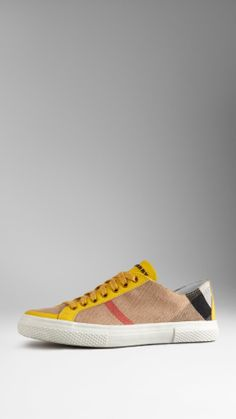 Brit Check Low-Top Trainers | Burberry