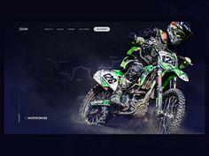 Extreme Sports Webdesign by Tomáš Nožina