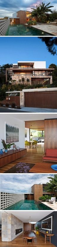 Flipped House by MCK Architecture, in Surry Hills, Australia