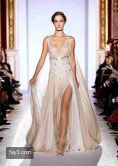 فستان من تصميم زهير مراد مجموعة هوت كوتور صورة 19