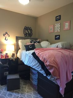 Texas Tech Dorm Room | Talkington Hall
