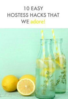 Hosting a party - these hostess hacks will help you rock it!