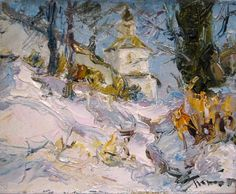 Tuman Zhumabaev 1962   Russian Impressionist painter