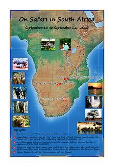 Passport Maps celebrate life's important moments. Travel Tours, Travel Maps, Chobe National Park, National Parks, Anniversary Present, Custom Map, African Safari, Travel Memories, Tour Guide