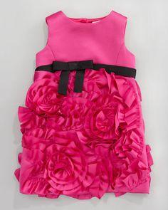 ShopStyle: Milly MinisRosette Party Dress, Sizes 8-10
