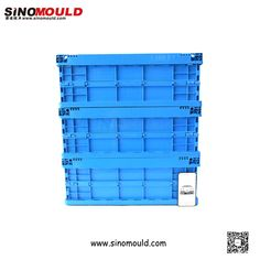 C1-serie Foldable Crate, size 600*400*230mm. Welcome to follow and contact us! Email: sino-mould@hotmail.com. Whatsapp: +86 158-5868-5625.