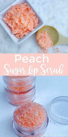 Peach Sugar Lip Scrub Pfirsich Zucker Lippenpeeling The post Pfirsich Zucker Lippenpeeling & Keep Calm And Pamper On appeared first on Skincare . Diy Lip Scrub, Sugar Scrub Homemade, Sugar Scrub Recipe, Diy Lip Balm, Homemade Lip Scrubs, Body Scrub Recipe, Diy Soaps And Scrubs, Santa Baby, Zucker Schrubben Diy