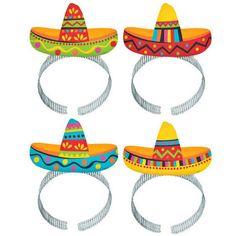 Sombrero headbands!