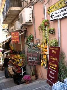 Signs of the Times - Taormina, Sicily, Italy