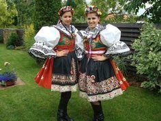 Folk dress from Kyjov region, Czech Republic.  I wear mine sometimes.  Those petticoats make you the width of a house.