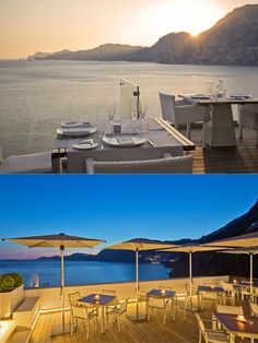 The LIFESTYLEHOTEL Casa Angelina is located in Praiano, in the heart of the Amalfi Coast and offers an incomparable location directly on the cliff Adriatic Sea, Italy, Positano, Amalfi Coast, Sunset, Beautiful, Sunsets, Italia, The Sunset