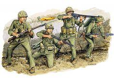 Las Cosicas del Panzer — hanspanzer: Marines en Iwo Jima.