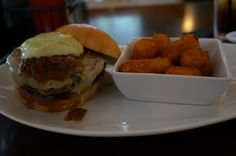 Five Napkin Burger - The Original Five Napkin burger with cheese tots