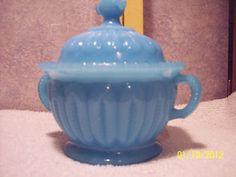 blue sugar bowl.