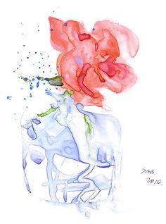 Sue Smith, via flickr watercolor