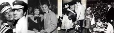 During the year that Elvis lived at his Audubon drive house ( march 1956 to march 1957 ) he dated lot's of girls. But his steady girl friends was / at left ; June Juanico from may to september 1956 , next picture ; Elvis dated the Young actress Nathalie Wood from september to november 1956. The third picture , Elvis dated Barbara Hearn between january to october 1956. And the last at right ; Las Vegas girl Dottie Harmony from november 1956 to january 1957.No mention here for all the others…