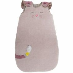 Gigoteuse chat gris Les Pachats (70 cm) - Moulin Roty