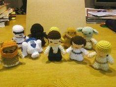 Crochet Star Wars characters by dandeneaufamily