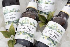 Wedding Beer Labels: The Best (Custom!) Beer Labels for Weddings Creative Wedding Favors, Beach Wedding Favors, Wedding Favors For Guests, Wedding Labels, Wedding Reception, Wedding Gifts, Beer Wedding, Fall Wedding, Wedding Bags