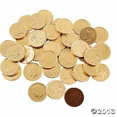 Chocolate Gold Coins - Oriental Trading
