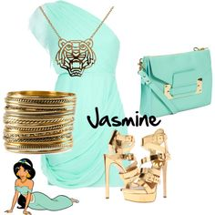 """Jasmine"" by xanadu-locey on Polyvore"