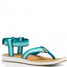 de76447146d0 1010329-DPTL Teva Women s Original Ombre Sandals - Deep Teal  www.bootbay.com · Deep TealAnkle Strap ...
