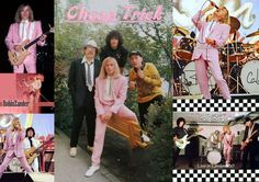 "Cheap Trick ~ Robin Zander is rockin' the pink suit!! I made this collage for my ""Cheap Trick Forever"" fan page on Facebook <3"