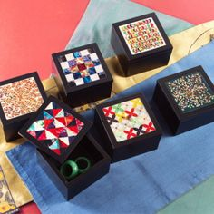 나전 소함 (Small boxes with mother-of-pearl prints