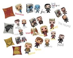"""""""Game of thrones figurines"""" by hungergames11 ❤ liked on Polyvore featuring interior, interiors, interior design, home, home decor and interior decorating"""