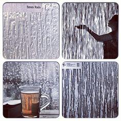 rainy day, texture