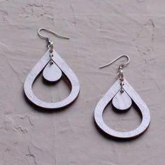 Ropina-korvakoru - Made By NooSa Joko, Drop Earrings, Personalized Items, Jewelry, Jewlery, Bijoux, Schmuck, Drop Earring, Jewerly