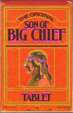 Son of Big Chief Tablet - Early 70's (Sunglasses and Peace Medallion Version)