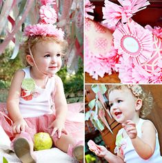 Vintage Pink Elephant Birthday Party - Hostess with the Mostess®