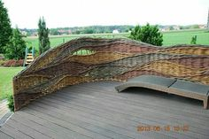 Woven fence/screen