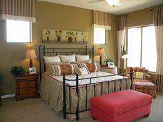 These curtains are a perfect match to the bedding and valances.