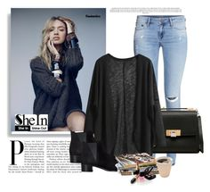"""""""Sheinside"""" by marijaprusina ❤ liked on Polyvore featuring H&M, Balenciaga, Acne Studios, Nearly Natural and Chanel"""