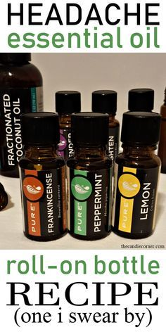 Headache Essential Oil Recipe