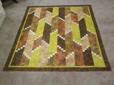A quilt especially made for our grandson.