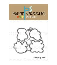 Paper Smooches Wise Die - Giddy Bugs