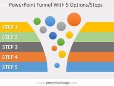 46 best powerpoint funnels images presentation diagram free