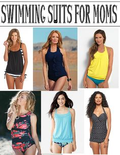 Simply Girly: Swimming Suits for Moms